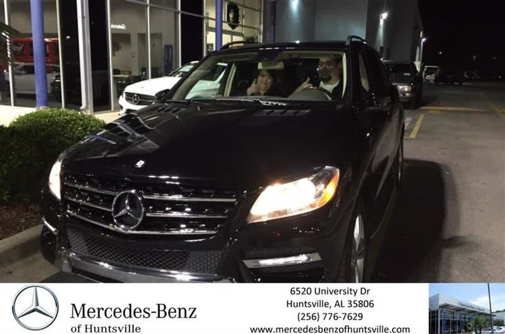 Congratulations L C on your #Mercedes-Benz #M-Class from Amir Samadani at Mercedes-Benz of Huntsville!  https://deliverymaxx.com/DealerReviews.aspx?DealerCode=TSTE  #Mercedes-BenzofHuntsville