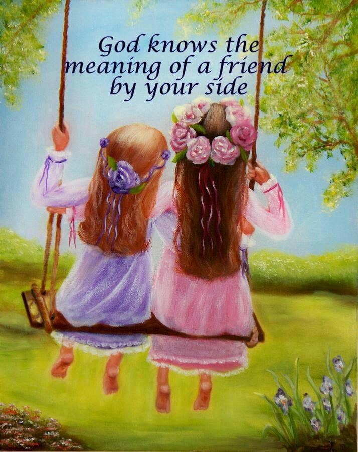 "Side by side, or miles apart, my PinSisters are forever close to my <3!!! Thinking of you all on this sparkly Friday morning and wishing you the very best day ever! <3 ""The Lord will guide you always; He will satisfy your needs in a sun-scorched land...You will be like a well watered garden, like a spring whose waters never fail.""  ✿ (Isaiah 58:11) ✿ Love you! <3"