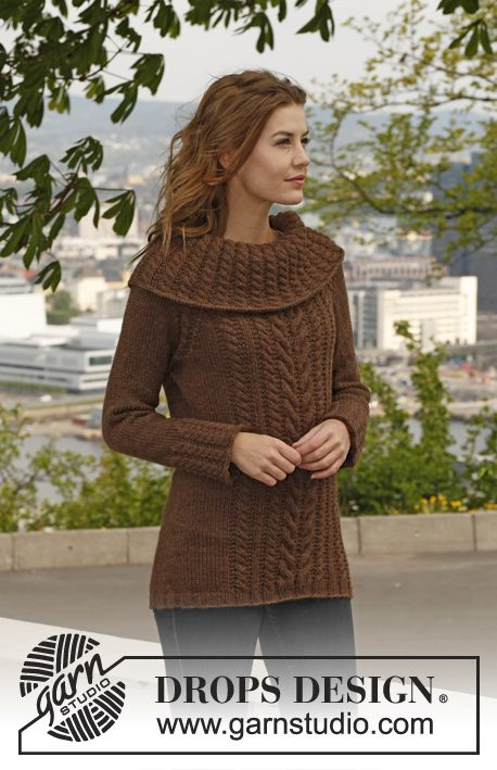 Cacao Pullover || Free Knitting Pattern