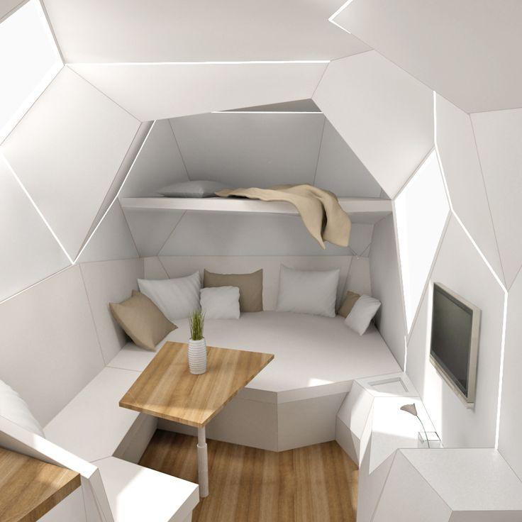 25 Futuristic Technologies You May Live To See InteriorFuturistic BedroomFuturistic DesignTrailer