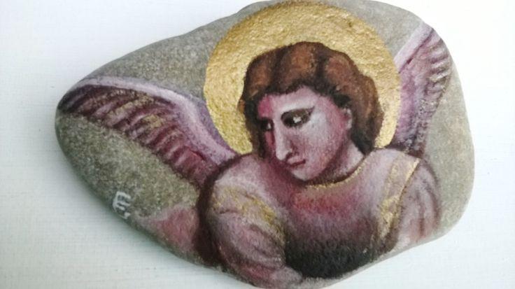 """Le pietre di Giotto """"Giottini"""" Angelo Annunciatore"""