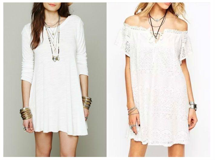 21 besten Weiße Kleider Bilder auf Pinterest | Produkte, Weißes ...