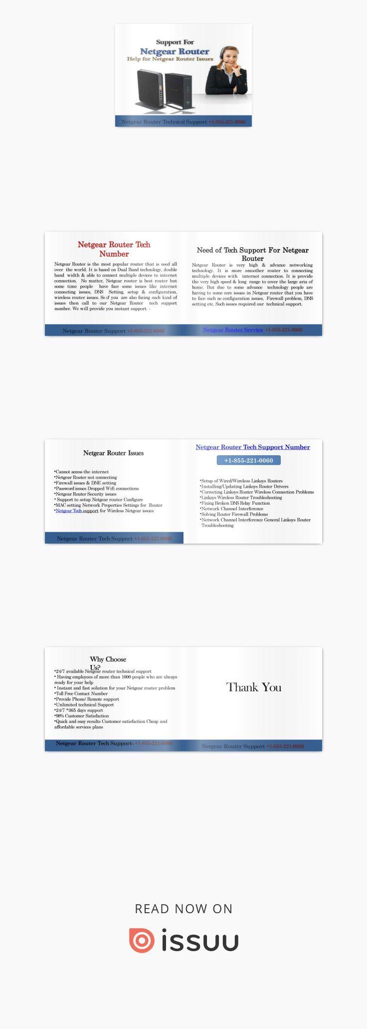 Netgear Router Tech Support Number +18552210060 Tech