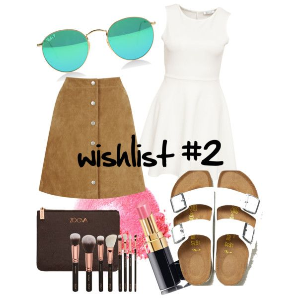 wishlist by paluna on Polyvore featuring polyvore fashion style Warehouse Birkenstock Chanel NARS Cosmetics