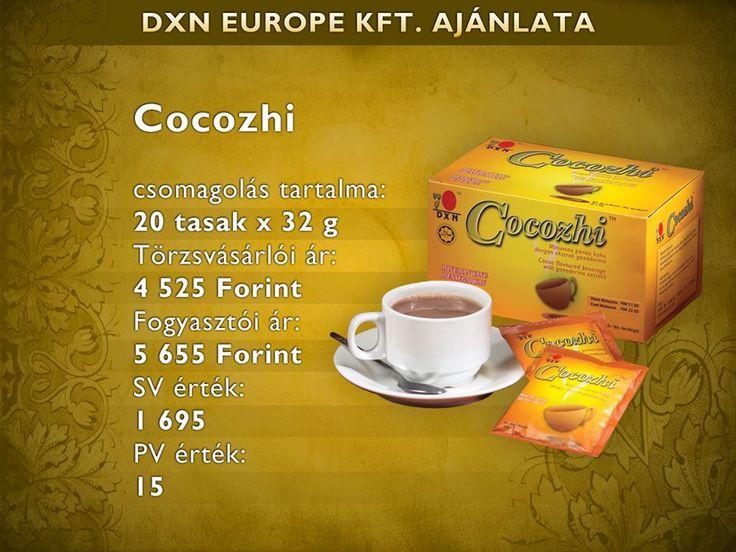 Cocozhi forró csoki ganodermával