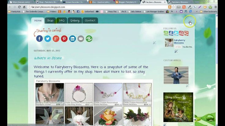 How to Use Blogger Gadgets and Template Designer