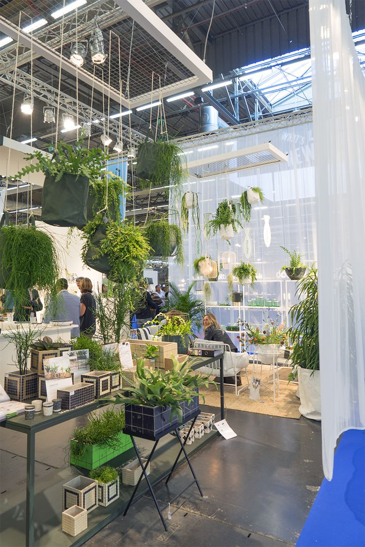 We hunted for greenery at theMaison & Objetdesign show in Paris and found fun new planters, green booth designs and planty more!
