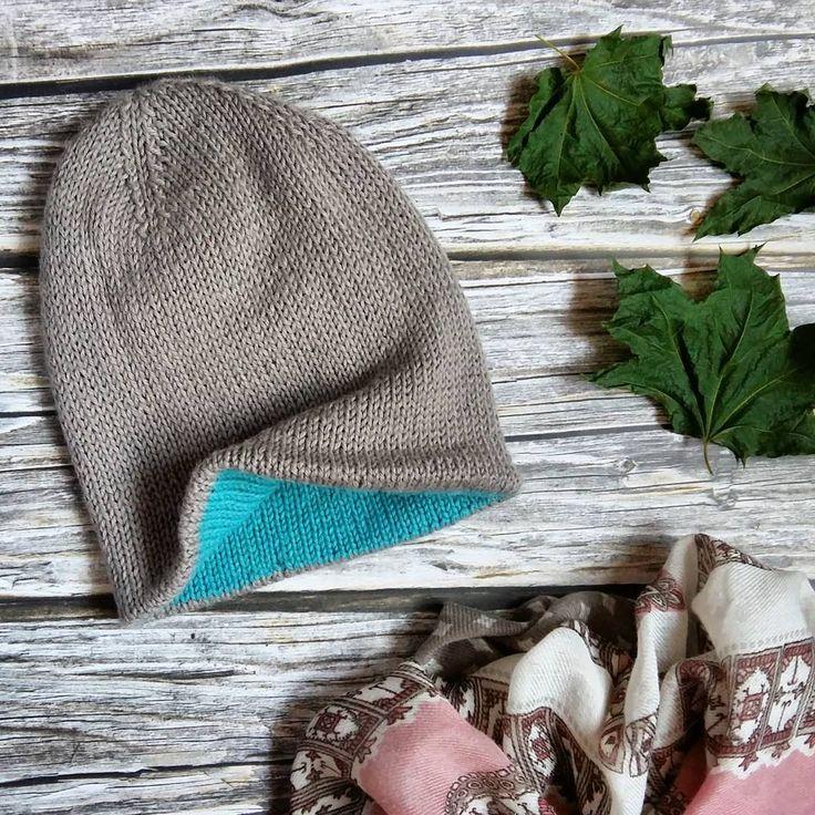 Все готовы к холодам? Если нет, то бегом утеплять свои ушки. На фото двусторонняя шапочка бини из альпаки с шерстью, без швов, тёплая, мягонькая, мммм... на размер 55/58 см, цена 1,5 тыс. руб.