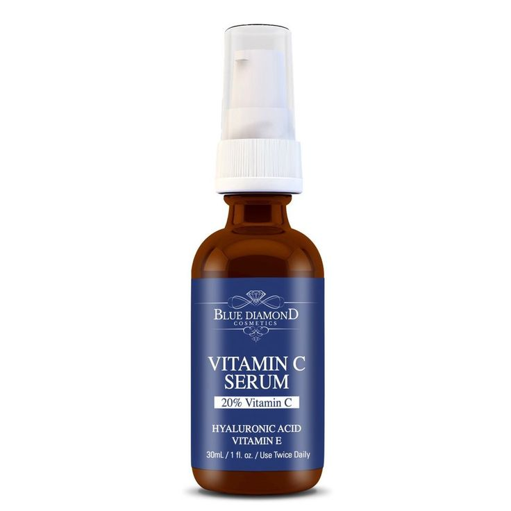 Anti-Aging Serum 20% Potency Vitamin C Amino and Hyaluronic Acid Anti Wrinkle  #BlueDiamondIndustries  Nourish your facial skin with this beauty product.
