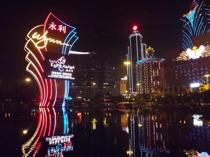 Macau by Night #Wynn #Lisboa #GrandLisboa  Image: Sadhvi Rampersad