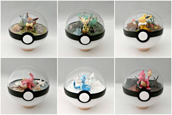 ***Dont buy this listing. Its just an advertisment explaing everything about my poke ball terrariums. ***  Sorry if they are all sold out - I cant cant keep up with the demand. I sell out instantly right after uploading them...  ----------------------------------------------------------  * T W I T T E R * - @TheVintageRealm  Follow my Twitter to get alerts. Ill let you know when Im about to post more Poke balls! I will alert you the day before I post them, telling you an approximate time I…