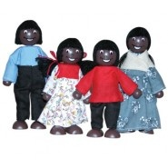 African Doll Family