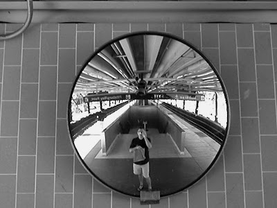 self-portrait, rockridge bart station, ca - jitsuganBart Stations, Rockridg Bart