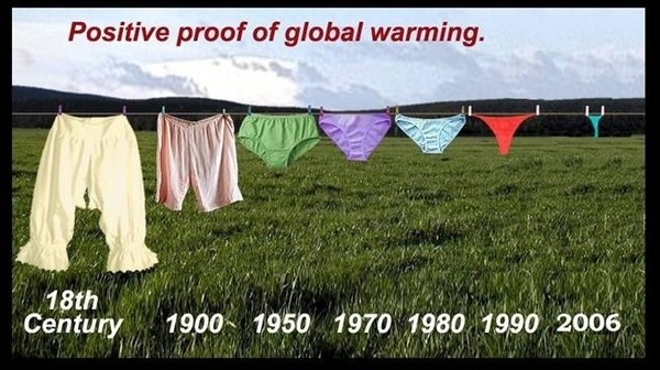 Positive proof of global warming.