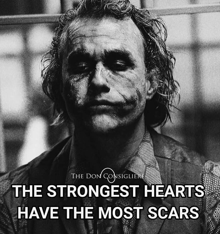 got a whole lot of scars