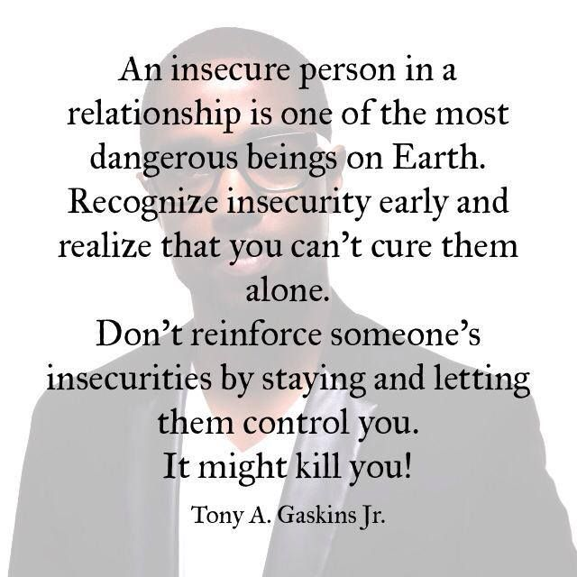 Does Relationship Mean What Insecure A Being In