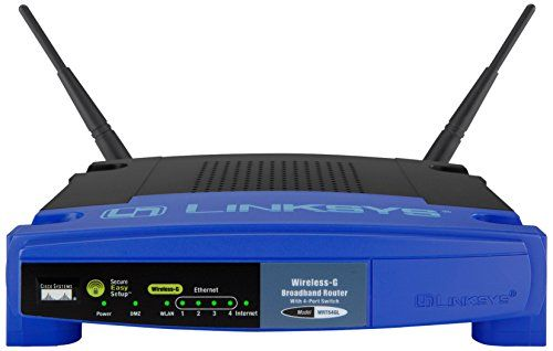 Linksys - Wireless-G Broadband Router WRT54GL - Wireless router - 4-port switch - 802.11b g - desktop