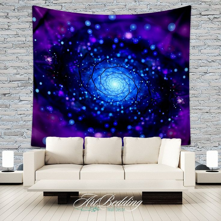 Looking for that special piece of home décor to transform your room from ordinary to extraordinary? A tapestry is so much more than a simple home décor item; it is a work of art. With this Purplespiral galaxy tapestryyou will have a peace of the space in your bedroom or livingroom. Why Our Tapestries?Our tapestries are a work of art and we treat their design with diligent care as we oversee the entire creation process. We print our own tapestries using a state of the art printing…