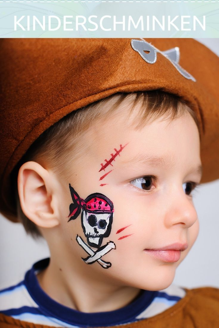 schminken pirat