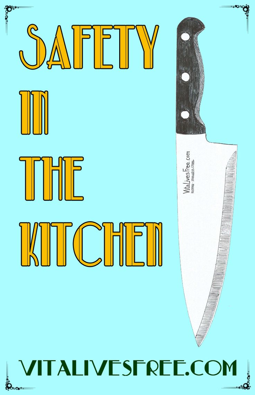 Kitchen safety poster project - Kitchen Safety