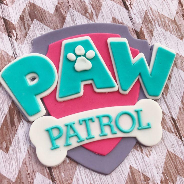 Working on Paw Patrol girly colored cake sets!  #etsyshop #etsyshopowner #etsyseller #sweetcakearts #pawpatrolparty #pawpatrolcake #girlypawpatrolparty