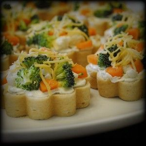 Vegetable canapes fun food and recipes pinterest for Canape bread molds