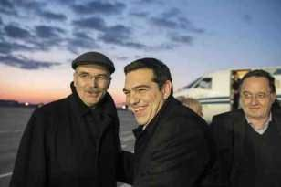 A warm @PrimeministerGR @atsipras Welcome in the Cold #Kremlin. An ease for #Greece, the civilised way | Greek2m eye
