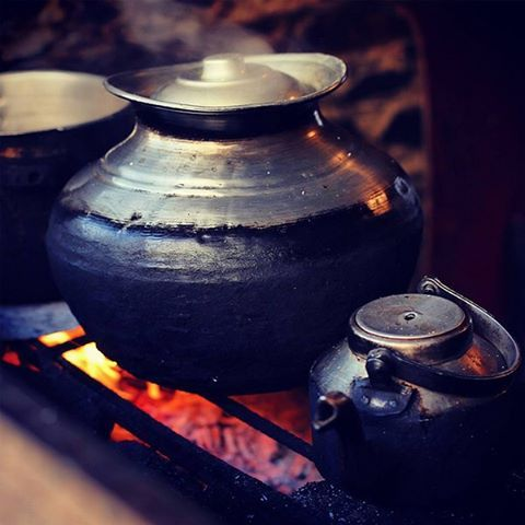 Photo submitted by: @umaircom  Hot #Tea - An old traditional style of #cooking over a #coal #grill. This still is the only way they cook food and make tea in #Kalash valley of #Chitral, #Pakistan  Submit your photos to us by using the hashtag #dawndotcom  #KalashValley #tradition #culture #photography #customs