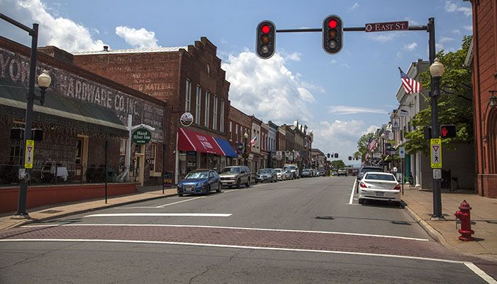 CULPEPER, VA. -a National Trust 2012 Great American Main Street, is home to some great wineries and dining venues.