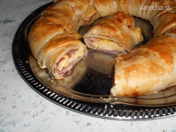 Brunch Ring slanina, vajce a syr (fotorecept)