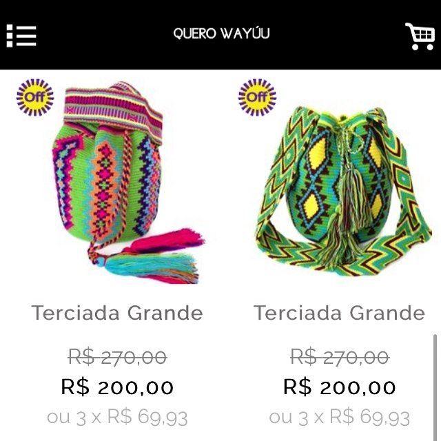 TUDO EM #PROMOÇÃO #queimadestock @querowayuu Compre a sua em www.querowayuu.com  #style entre em contato com a  #arteindigena #colombiana #miçanga #querowayuu #Wayuubags #wayuubrasil #wayuulovers #ethnic #etnico #euquero #gypsy #gostei #bohostyle #boho #bolsaswayuu #fashion #tanamoda #riodejaneiro #artesanal #arteindigena #colombiana #colorful #consumoconsciente #wayuubag #bolsaswayuu #bolsawayuu