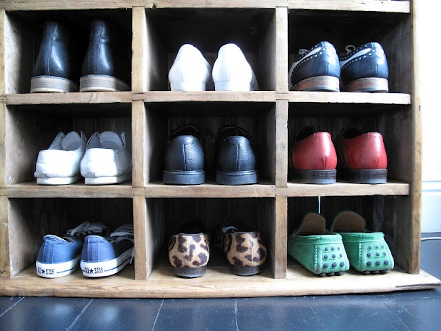Pigeon Hole Shoe Rack House Closets Organizing Ideas