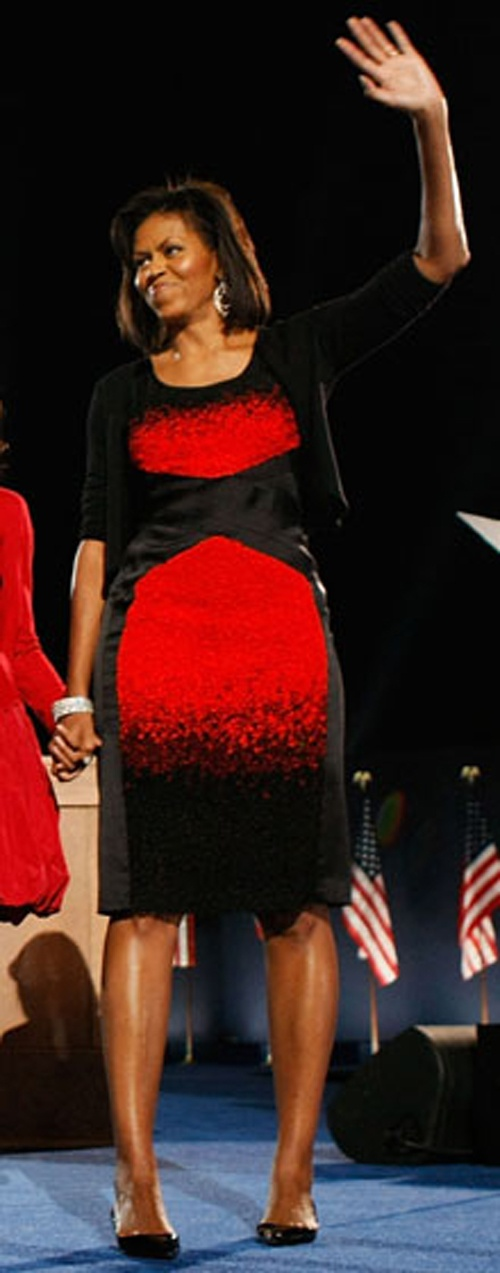 Michelle Obama Black Dress Controversy Free Images
