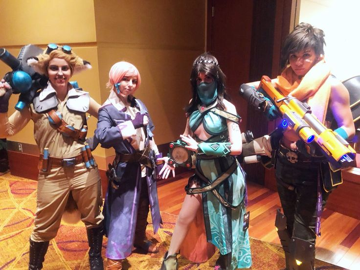 Paladins: Pip, Maeve, Ying, and Kinessa cosplay in 2019 ...