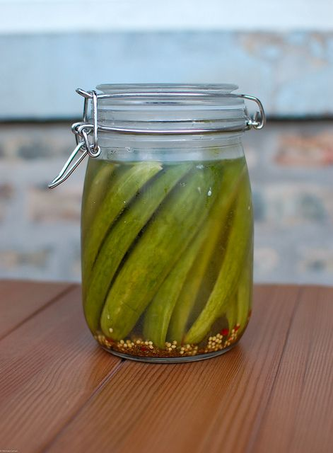 Refrigerator pickles, maybe try it with actual dill instead of dill ...