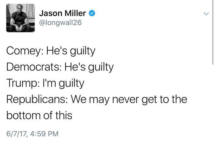 True dat, Jason Miller. #impeachtrump #impeachtrumpnow For more like this, go to http://thetrumpimpeachment.com/category/meme