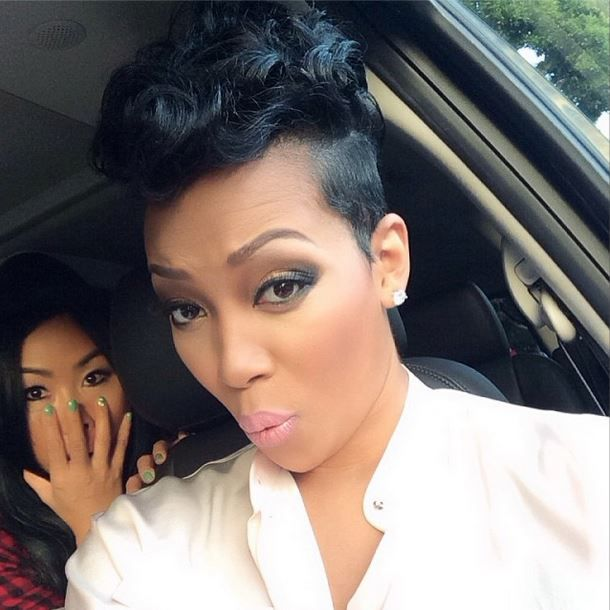 Singer Monica Brown Is Known To Wear Short Haircuts But