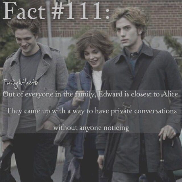 "803 Synes godt om, 5 kommentarer – Twilight Facts (@twilightfactss) på Instagram: ""~ I love the relationship between Edward and Alice - Autumn…"""