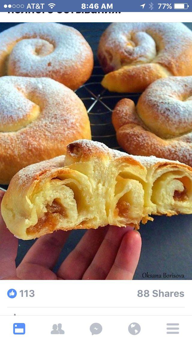1.  испанских булочек 'Ensaimadas'