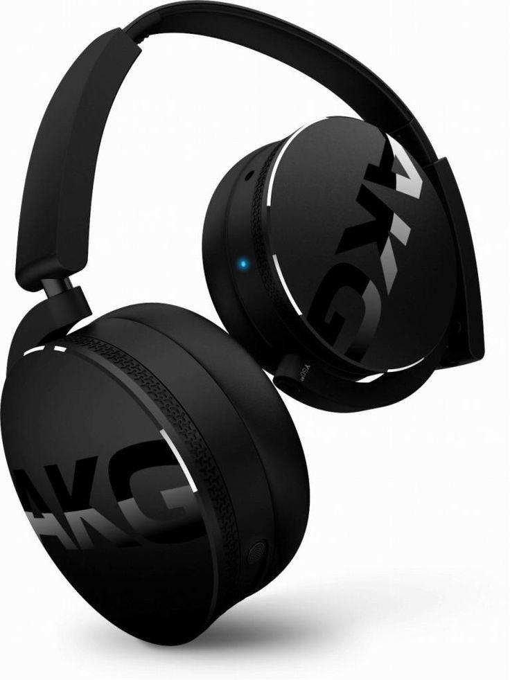 AKG Y50BT ワイヤレスヘッドホン Bluetooth 密閉型 DJスタイル ブラック Y50BTBLK【国内正規品】