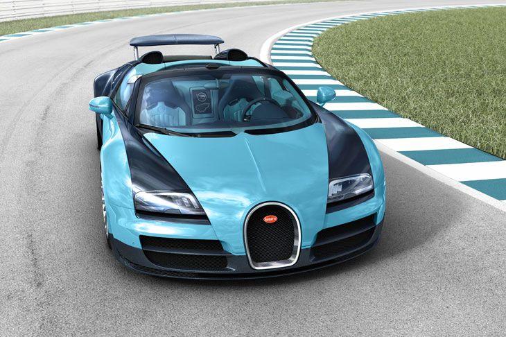 Die Entwicklung des Bugatti Veyron 16.4 war nicht einfach. Er ist Geschwindigkeits-Weltrekordhalter. Sonderedition Jean-Pierre Wimille