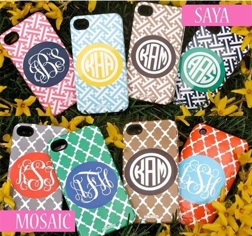 Want! Monogrammed Cell Phone Covers, create your ownCelli Covers, Iphone Cases, Monograms Iphone, Cell Covers, Casese Iphone, Adorable Cases, Iphone Covers, Monograms Cell, Cell Phone Covers