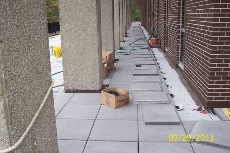 Braun & Steidl Architects : Making the Plaza Deck at Taylor Hall Accessible with a Paver Walkway.