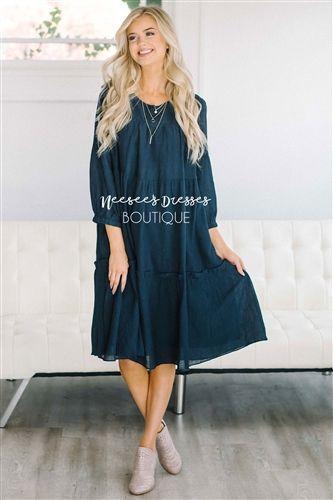 99f29e48e54a The Nadia - Nursing Friendly Modest Lace Dress, Modest Dresses, Modest  Outfits, Modest