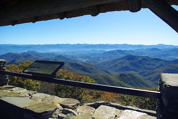 Wayah Bald Lookout Tower near Franklin, NC