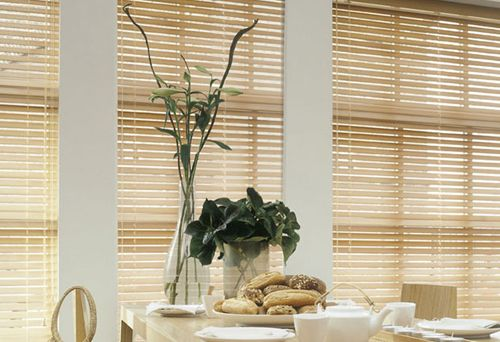 cortinas venecianas madera