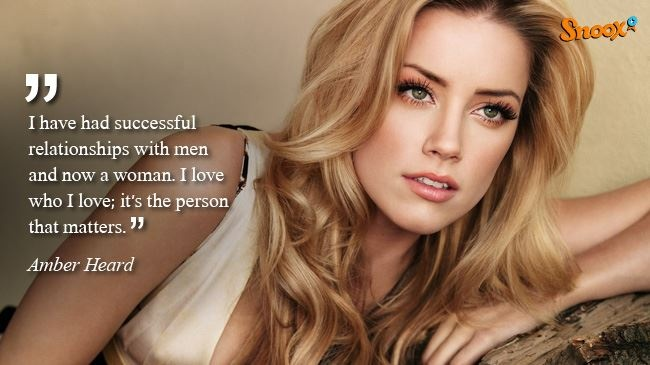 Amber Heard on her bisexuality