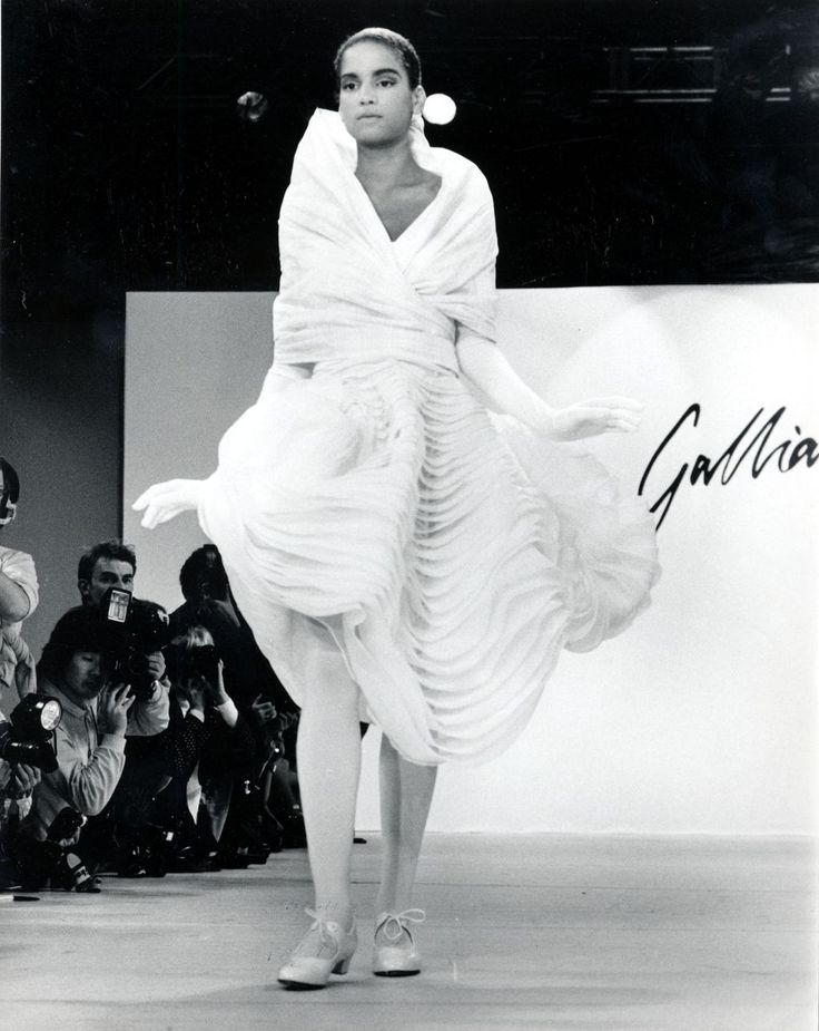 Veronica Webb John Galliano s/s 1988