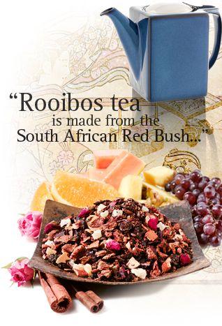 Rooibos Tea (not a tea, actually)