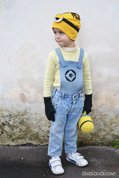 How to make a DIY Stuart Minion costume